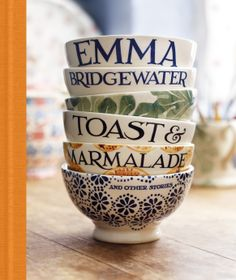 Toast & Marmalade Book By Emma Bridgewater - was given this today, for my birthday - just published. Started reading this morning - love Emma! An inspirational business story as well as a beautiful memoir, wonderful photographs. Thank you Emma B. Mrs Miniver, Bowls, Emma Bridgewater Pottery, English Pottery, Stoke On Trent, Displaying Collections, Dinnerware, Tea Pots, Toast