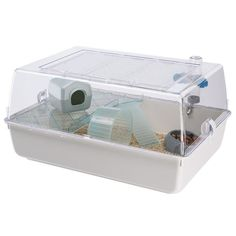 MINI DUNA Hamster Cage pour hamsters - Achat / Vente cage Cage pour hamsters - Cdiscount