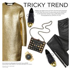 """Tricky trend"" by punnky ❤ liked on Polyvore featuring STELLA McCARTNEY, Blondoll, Kershaw, Derek Lam, Fendi, Invicta, women's clothing, women's fashion, women and female"