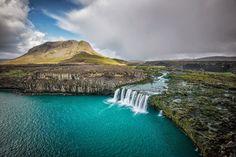 Thjofafoss Waterfalls  - Iceland