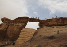 Auf den großen Bogen rauf und wieder runter. Foto: Doris Nature, Travel, Photos, Arch, Naturaleza, Viajes, Traveling, Natural, Tourism