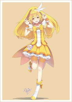 """Pretty Cure Peace"" Smile Precure fanart by MoeCW"