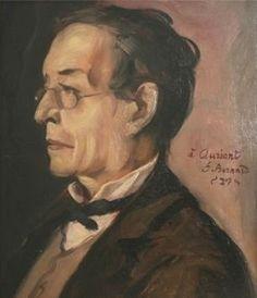 Paul Léautaud (18 januari 1872 – 22 februari 1956) - Portret door Emile Bernard. 1929