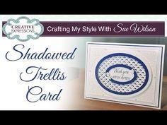 Shadow Trellis Adornment Card