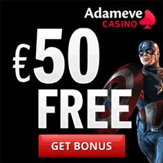 €100 no deposit bonus at Adam Eve Casino - ASK100