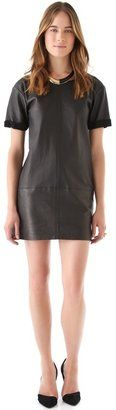 Rebecca Minkoff - Leather Shift Dress - $798.00 - Click on the image to shop now