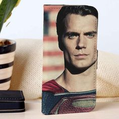 Henry Cavill Man OF Steel | Superman | Movie | custom wallet case for iphone 4/4s 5 5s 5c 6 6plus case and samsung galaxy s3 s4 s5 s6 case - RSBLVD