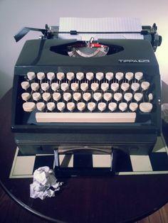 Vintage Tippa 2 Portable Adler Typewriter by SilverLiningTroves, $99.99