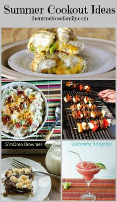 Summer+Cookout+Ideas+from+Appetizers+to+Desserts