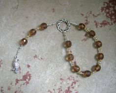 Freyja (Freya) Pocket Prayer Beads: Norse Goddess of Love, War, Passion, and Magic by HearthfireHandworks on Etsy