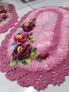 Cute Crochet, Knit Crochet, Crochet Hats, Crochet Scrubbies, Crochet Carpet, Needlepoint Canvases, Embroidery Art, Crochet Doilies, Arts And Crafts
