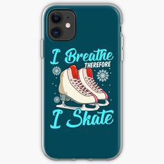 Ice Skating, Figure Skating, Breathe, Ice Rink, Vintage T-shirts, Gifts For Girls, Cover, Iphone 11, Skate