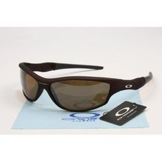Copy Oakley Half Jacket Sunglasses matte deep brown frames brown lens