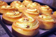 Pudding Desserts, Home Baking, Russian Recipes, Doughnut, Diy And Crafts, Muffin, Food And Drink, Bread, Backen