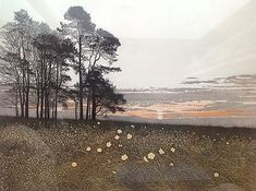 Phil Greenwood, pencil signed etching, 'Celtic Poppies', A/P | #471058063