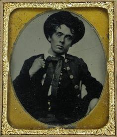 """""""Portrait of young Mr. Hayden, a native of New Orleans, mid-1850s"""