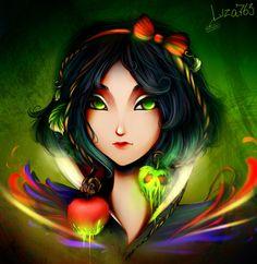 Poisoned apple by Liza763 on deviantART