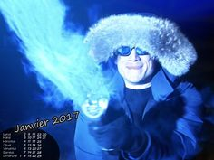 Calendrier Janvier 2017 #TheFlash #CaptainCold #WentworthMiller
