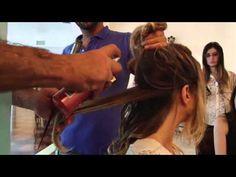 Marco Antonio de Biaggi mostra o passo a passo do cabelo ondulado de Letícia Spiller e revela que o segredo para manter o cabelo sempre lindo é o Dry Shampoo.