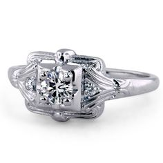 The Eugenie Ring: Another design option for Grandma's stone