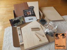 Der Cajon- Bausatz mit Snare von Sela - frisch ausgepackt  #Cajon #Kaufen #Bausatz #Sela