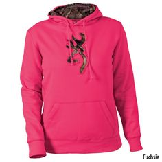 Gander Mountain  Browning Womens Buckmark Camo Hooded Sweatshirt - Apparel