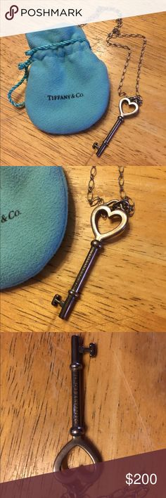 6fbfd1639fb 💚👗HOST FASHION PICK Tiffany  amp  Co. key necklace 💯 Authentic Tiffany   amp
