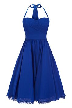 Dress in TARDIS blue