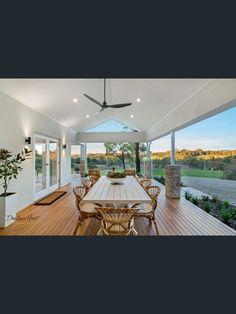 Facade House, House Exteriors, Indoor Outdoor, Outdoor Living, Outdoor Decor, Alfresco Ideas, Solid Brick, Hobby Farms, New Builds
