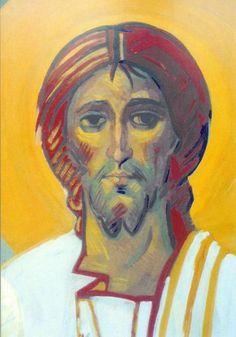 detalle de la Transfiguración. Rostro del Cristo