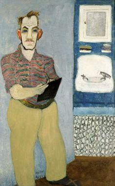 Milton Avery - Self Portrait, 1941