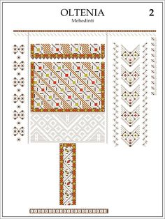 Semne Cusute: ie din OLTENIA, Mehedinti Embroidery Patterns, Cross Stitch Patterns, Cross Stitch Needles, Costume Patterns, Punch Needle, Traditional Outfits, Diy And Crafts, Symbols, Crochet