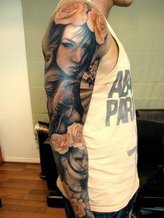 Beautiful arm tattoo