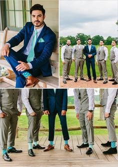 Groomsmen wearing matching wedding color socks is a trend we love.   We recommend Argyle.  groomsmen look #groomsmen @weddingchicks #Wedding #Groom #Socks #Argyle (scheduled via http://www.tailwindapp.com?utm_source=pinterest&utm_medium=twpin&utm_content=post17812812&utm_campaign=scheduler_attribution)