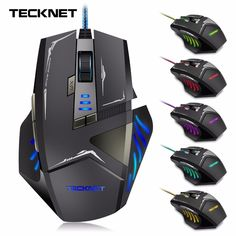 cb58e572865 TeckNet Gamer 7000DPI Optical Wired Gaming Mouse Gamer For Laptop PC  Computer accessories Macbook Air Accessories