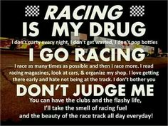 74 Best Racing Quotes And Funny Sayings Images Autos Dirt Track