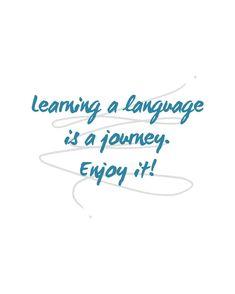 ✨LEARNING A LANGUAGE IS A JOURNEY. ENJOY IT!✈️🌎 ✨APRENDER UN IDIOMA ES UN VIAJE. ¡DISFRÚTALO!✈️🌎 . ✨Learning a language is a process that we must enjoy. If we do, we will be more motivated and learn faster. Don't put more pressure on you and enjoy the trip. . ✨What is your journey? What language are you learning? -------- ✨Aprender un idioma es un proceso que debemos disfrutar. Si lo hacemos, estaremos mas motivados y aprenderemos más rápido. No pongas más presión sobre ti y disfruta el…