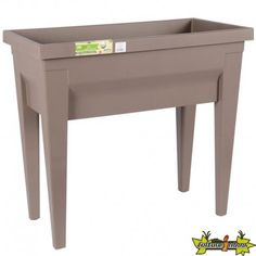 POTAGER VEGETABLE CITY TAUPE 76x38.5x68 57L