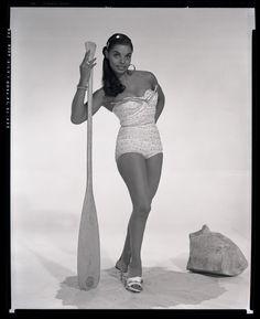 Vera Francis   1950s Vintage black starlet, model, pinup girl and burlesques performer