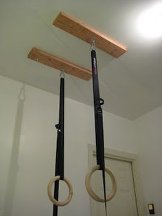 Constantly Varied: CrossFit Home Gym: How to Hang Gymnastic Rings