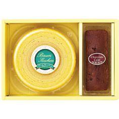 はやし物産 洋菓子詰め合わせ バームクーヘン&チョコケーキ CB-164 02P30Nov14 ROOM - my favorites, my shop 好きなモノを集めてお店を作る