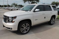 2015 Chevrolet Tahoe LTZ SUV . . . Something we finally agree on as a family car lol