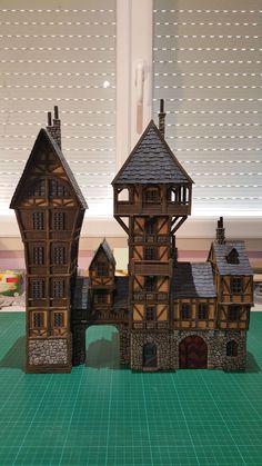 Providence - Medieval City Port Miniature - by Chris Da Silva