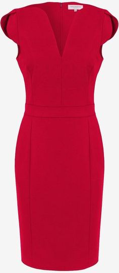 French connection England Lolo Stretch Classics Dress - Lyst