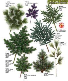 Pine Tree Branches | pvc pine spray plastic arolla spray pvc virginia pine pvc deluxe pvc ...
