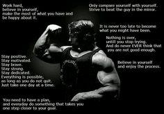 I love arnie. . .