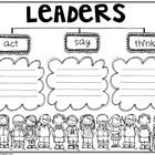 As you teach The 7 Habits of The Leader in Me to your students, use this tree map to brainstorm both what leaders are, act, say, think Student Leadership, Leadership Activities, Group Activities, Kindness Activities, Beginning Of School, Going Back To School, Covey Habits, Tree Map, Thinking Maps