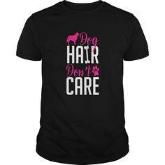 golden retriever hair dont care t shirt