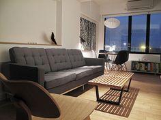 Гениальный практичный дизайн маленькой узкой квартиры