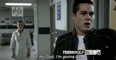 Teen wolf - Stiles...i was sobbing during this scene